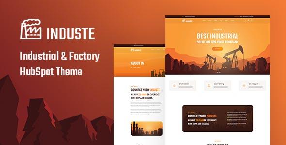Induste - Factory HubSpot Theme