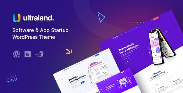 Ultraland - Software & App Startup WordPress Theme - Technology WordPress