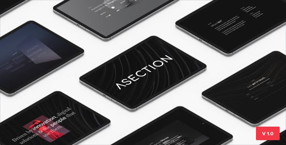 ASection - Bootstrap 5 Personal One Page HTML Template