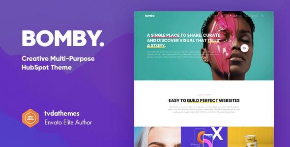 Bomby - Creative Multi-Purpose HubSpot Theme