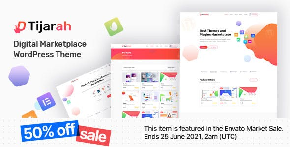 Tijarah | Digital Marketplace WooCommerce Theme