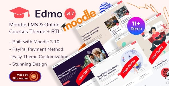 Edmo - Moodle LMS & Online Courses Theme