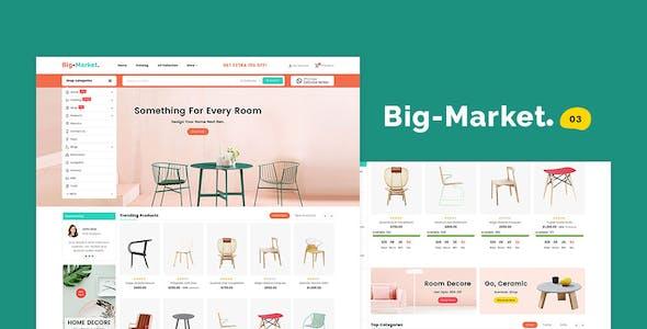 Big Market - Shopify Multi-Purpose Responsive Theme