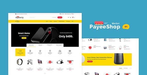 Payee Shop - Shopify Multi-Purpose Responsive Theme