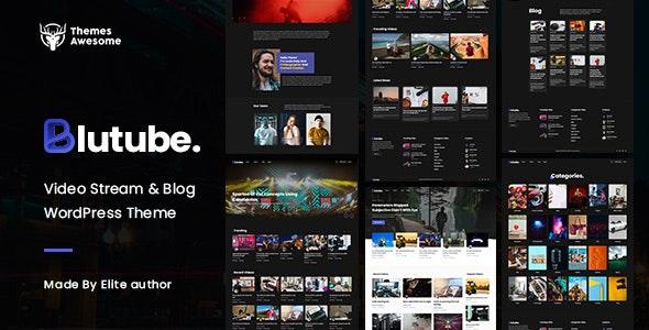 Blutube | Video Stream & Blog WordPress Theme - Entertainment WordPress