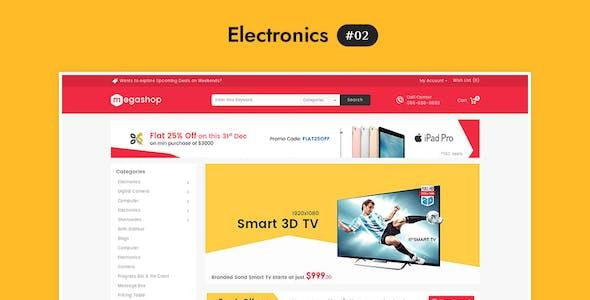 Mega Shop - WooCommerce Multi-Purpose Responsive Theme