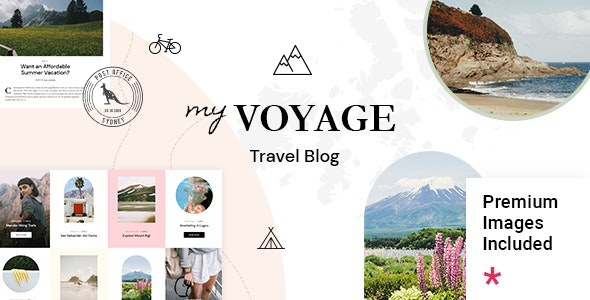 MyVoyage - Travel Blog WordPress Theme - Personal Blog / Magazine