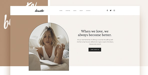Bonete - Personal Blog HubSpot Theme - Blog / Magazine HubSpot CMS Hub