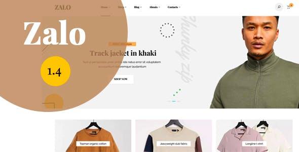 Zalo fashion - WooCommerce theme