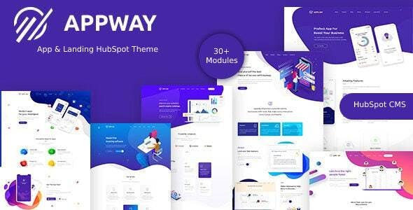 Appway - Saas & Startup HubSpot Theme