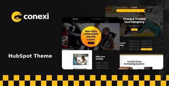 Conexi - Taxi Booking Service HubSpot Theme