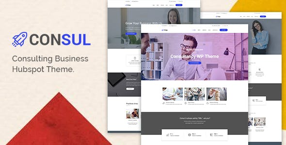 Consul - Consulting Business HubSpot Theme