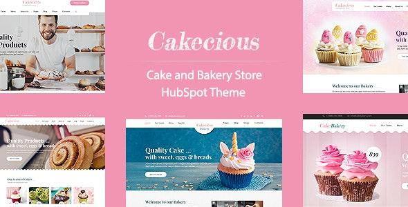 Cakecious - Bakery Hubspot Theme - Retail HubSpot CMS Hub