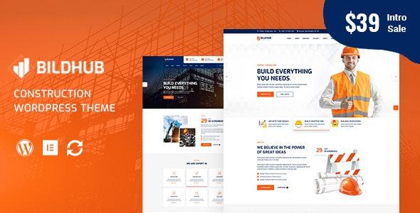Bildhub - Construction & Building WordPress - Business Corporate