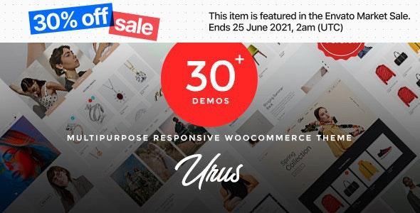 Urus v2.0.3 – Multipurpose Responsive WooCommerce Theme