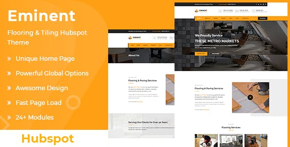 Eminent – Flooring and Tiling Services Hubspot Theme
