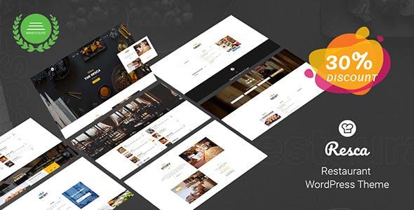 Restaurant WordPress Theme - Resca