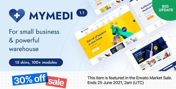 MyMedi - eCommerce HTML Template - Retail Site Templates