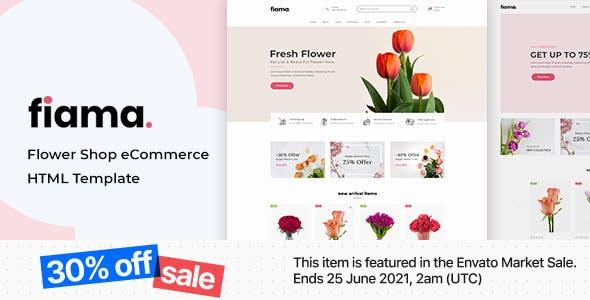 Fiama - Flower & Florist HTML Template