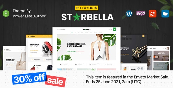 StarBella - Multipurpose WooCommerce Theme - WooCommerce eCommerce