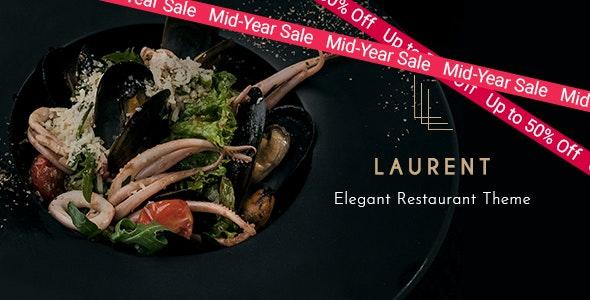 Laurent v2.5 – Elegant Restaurant Theme