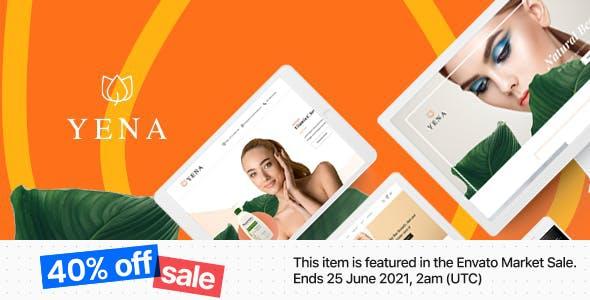 Yena – Beauty & Cosmetic HTML Template
