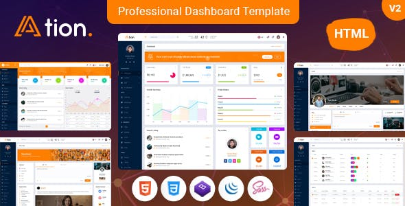 Ation - Office Management Admin Dashboard Template