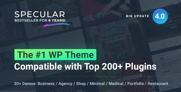 Specular - Business WordPress Multi-Purpose - Business Corporate