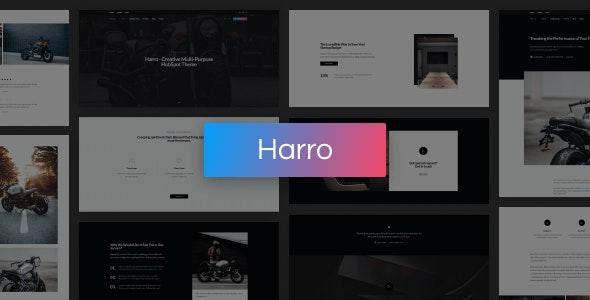 Harro - Creative Multi-Purpose HubSpot Theme - Creative HubSpot CMS Hub