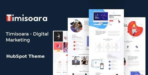 Timisoara - Digital Marketing  HubSpot Theme - Corporate HubSpot CMS Hub