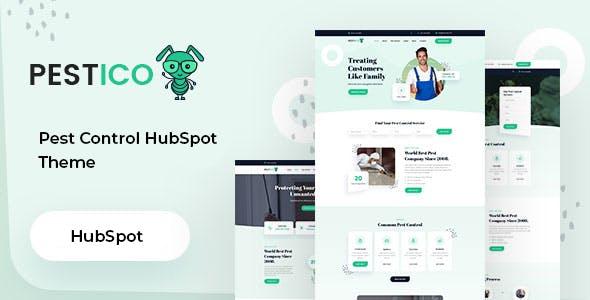 Pestico - Pest Control Services HubSpot Theme