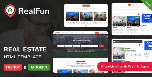 RealFun - Real Estate