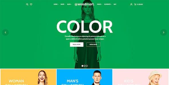 WoodMart - Responsive WooCommerce WordPress Theme