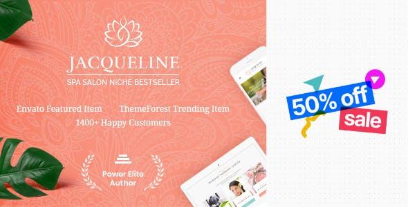 Jacqueline   Spa & Massage Salon Beauty WordPress Theme + Elementor