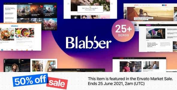 Blabber   All-in-One Elementor Blog & News Magazine WordPress Theme + RTL - News / Editorial Blog / Magazine