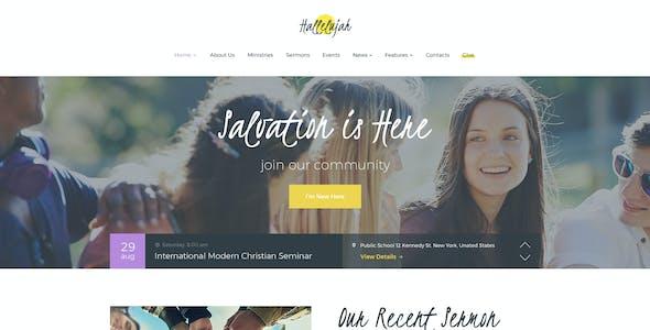 Hallelujah | Church & Religion WordPress Theme