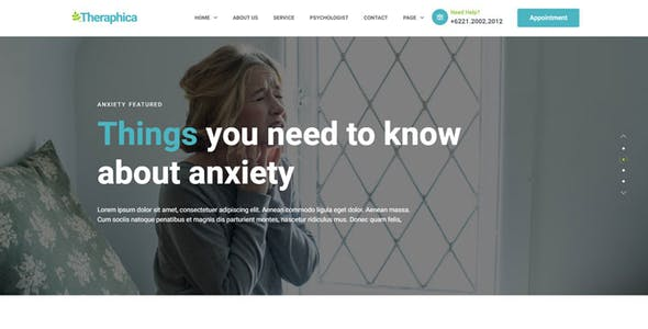 Therapica - Mental Health & Psychologist Elementor Template Kit