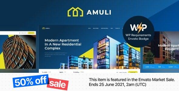 Amuli   Property & Real Estate WordPress Theme