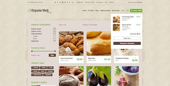 Organic Web Shop - The WooCommerce Eco Theme