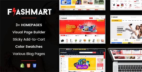 FlashMart v1.0.1 – Responsive Multipurpose Sections Shopify Theme