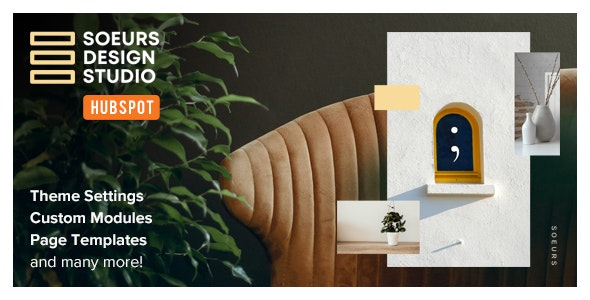 Soeurs - Architecture & Interior Designers HubSpot Theme - HubSpot CMS Hub CMS Themes