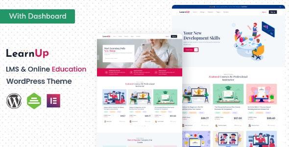 LearnUp - Education WordPress Theme - Education WordPress