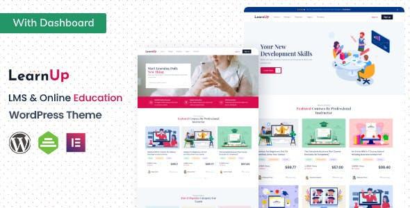 LearnUp - Education WordPress Theme