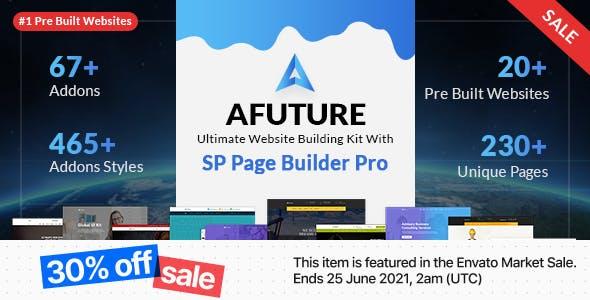 A Future - Creative Multipurpose Joomla Template
