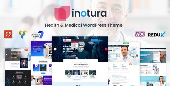 Inotura - Health & Medical WordPress Theme - Business Corporate