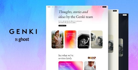 Genki - Magazine Ghost Blog Theme - Ghost Themes Blogging