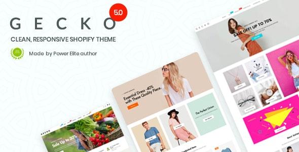 Gecko 5.0 - Responsive Shopify Theme - RTL support - Fashion Shopify