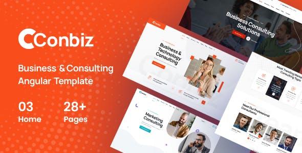Conbiz - Consultancy & Business Angular Template