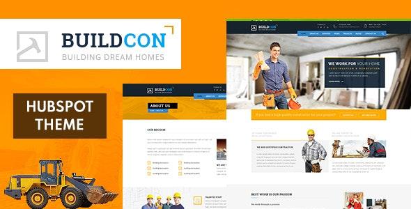 Buidcon - Construction HubSpot Theme - HubSpot CMS Hub CMS Themes