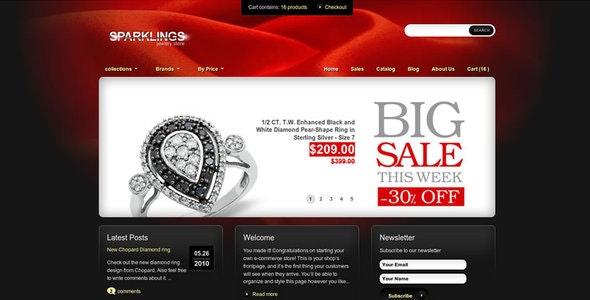 Sparklings Shopify Theme - Shopify eCommerce